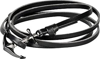 Wildcat Anchor Leather Bracelet