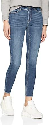 Pieces Womens Pcdelly Skn Mw Cr B184 Mb/noos Skinny Jeans, Blue (Medium Blue Denim Medium Blue Denim), 31W