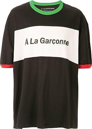À La Garçonne T-shirt oversized Special À La Garçonne + Hering - Preto