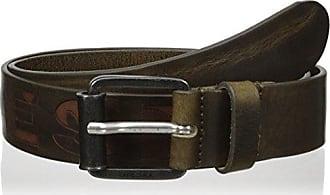 Diesel Mens B-Laserr Belt, Olive Night, 85