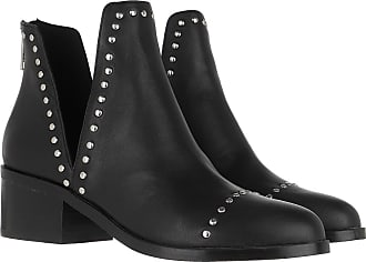 Steve Madden Boots & Booties - Conspire Ankleboot Black Leather - black - Boots & Booties for ladies
