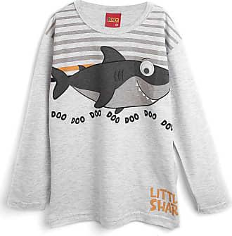 KYLY Camiseta Kyly Menino Tubarão Cinza