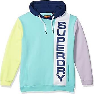 New Mens Superdry Triple Drop Pop Panel Sweatshirt Eclpsnvy