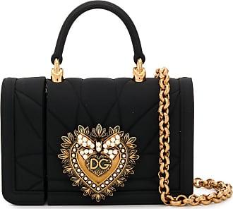 Dolce & Gabbana Custodia per AirPods Devotion - Di colore nero