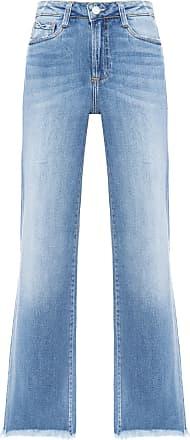 Dudalina Calça Jeans Pantacourt Jeans - Azul