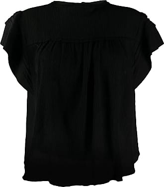 Isabel Marant Black top with tunic collar