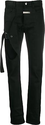 Zilver BCI cut-out jeans - Black