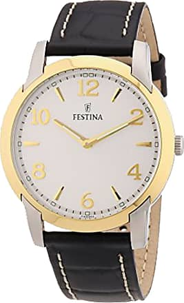 Festina Watch for Men, Black, Stainless Steel, 2017, One Size