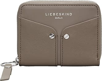 Liebeskind Duo Conny Wallet Medium, Womens Wallet, Grey (Cold Grey), 2x10x13 cm (B x H T)