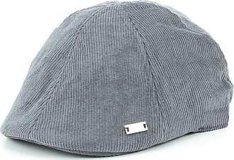Hawkins Corduroy Duckbill Flat Cap - Grey (58cm)