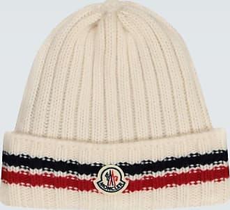 Moncler Wollmütze mit Logo