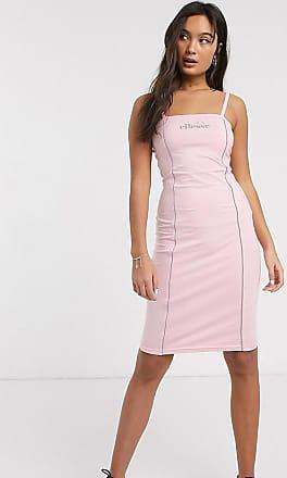 Ellesse Ellesse - Bodycon-jurk met reflecterende bies-Roze