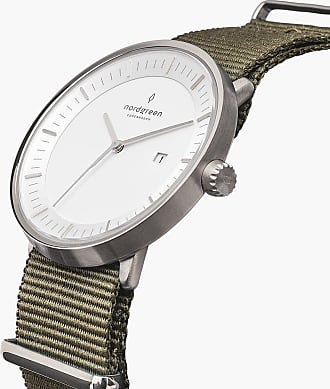 Nordgreen Philosopher - Silver | Nylon Bohème - 40mm / Silver