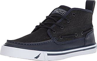 Nautica Mens DEL MAR MID Sneaker, Peacoat/Denim, 10 Medium US