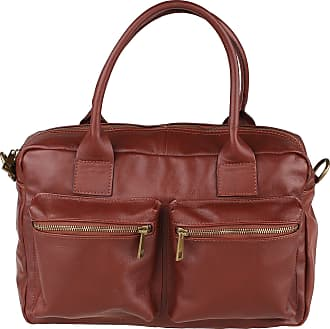 Chicca Borse Woman Handbag with Shoulder Strap in Genuine Leather Made in Italy Chicca Borse 36x26x15 Cm