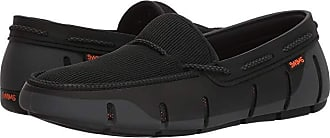 63882496d4d0b Swims Stride Lace Loafer (Black/Graphite Fleck) Mens Shoes