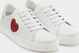 Anya Hindmarch Chubby Heart Sneakers Nappa in White