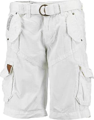 Geographical Norway Mens Shorts white White - white - S