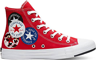 Converse: Rood All Stars nu tot −35% | Stylight
