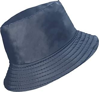 TOSKATOK Ladies Womens Showerproof Rainyday Bucket Festival Hat with Fleece Lining Navy