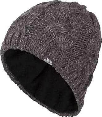 dbe48363b91 Trespass Mens Tomlins Knitted Beanie Hat (One size) (Carbon)