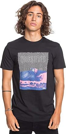 Quiksilver Pressure Drop - T-Shirt - Men - L - Black