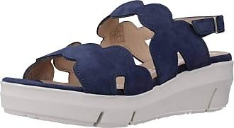 Wonders Women Sandals and Slippers Women D8232 Blue 6 UK
