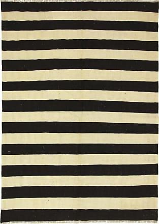 Nain Trading 233x164 Persian Kilim Fars Rug Dark Grey/Beige (Handwoven, Iran/Persia, Wool)
