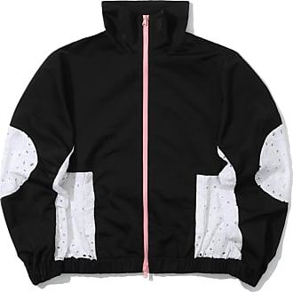 Markus Lupfer Contrast zip jacket