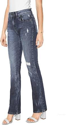 8e01cfbcf Ellus Calça Jeans Ellus 2ND Floor Bootcut Estonada Azul