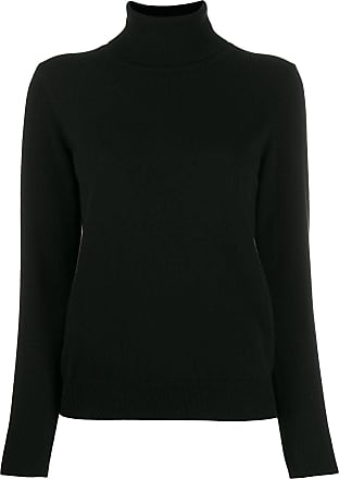N.Peal polo neck sweater - Black