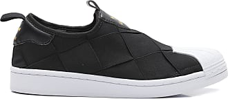 adidas TÊNIS FEMININO SUPERSTAR SLIP ON - PRETO