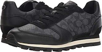 Coach Signature C PVC C118 Runner (Charcoal/Black) Mens Shoes