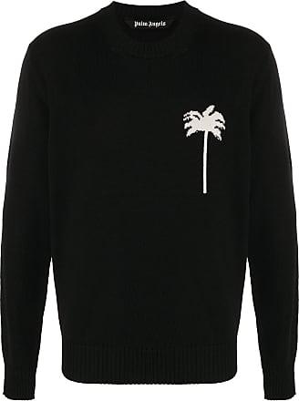 Palm Angels Merino intarsia knitted sweater