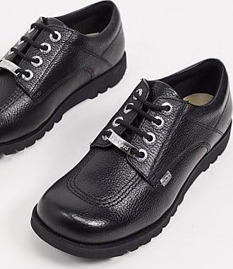 7 UK Kickers Kick Lo W Core Chaussures de ville /à lacets pour femme - 41 EU Noir black//black