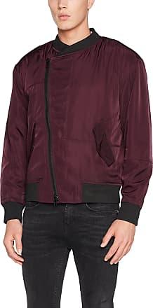 Religion Mens BONHILL Bomber Jacket, Red (Merlot), Medium (Size: M)