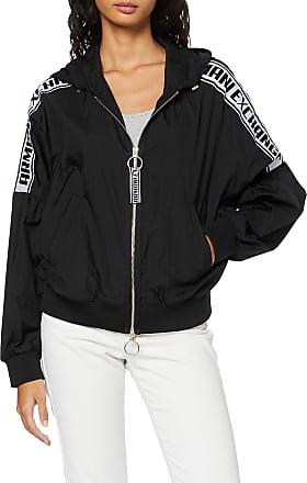 A X Armani Exchange Womens Super Light Weight Nylon Jacket, Black (Black 1200), Medium
