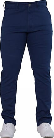 Enzo Jeans New Mens EZ348 Slim Fit Stetch Designer Blue Jeans Chinos W32- L32