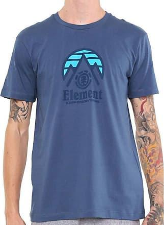 Element Camiseta Element Tri Tip Azul