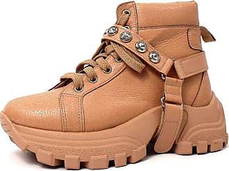 Damannu Shoes Tênis Chunky Alexia Nude - Cor: Nude - Tamanho: 38