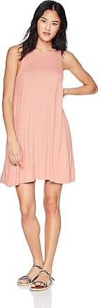 Billabong womensJD01NBKNKnockout Dress Sleeveless Dress - Orange - Large