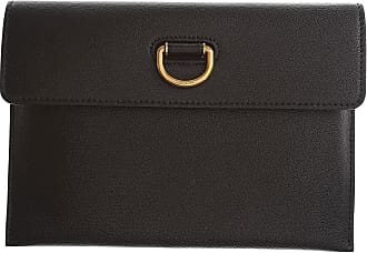 Burberry Womens Pouch On Sale, Black, Leather, 2017, one size