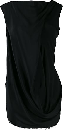 Rick Owens ruched effect tunic - Black