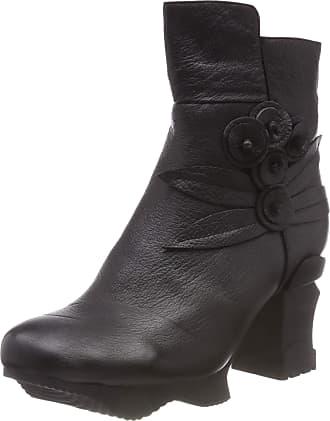 Laura Vita Womens Armance 16 Ankle Boots, Black (Noir Noir), 8 UK