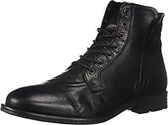 Aldo Mens KAORERIA Ankle Boot, Black Leather, 13 D US