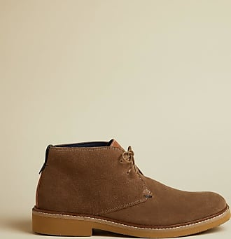Ted Baker Suede Desert Boots in Taupe ARGUILL, Mens Accessories