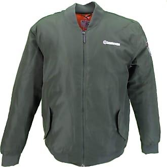 Lambretta Olive Green Ma 1 Bomber Jacket (X Large, Green)