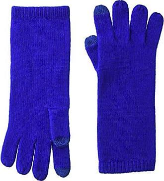 Sofiacashmere Womens Cashmere Smartphone Gloves, Cobalt, ONE Size