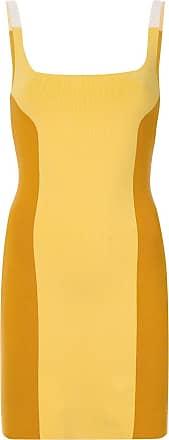 Nagnata Vestido color block - Amarelo