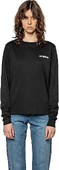 Han Kjobenhavn Schwarzes Logo lässiges Langarm-T-Shirt - L